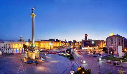 Evening Highlights of Kiev