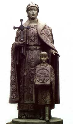 olga5 Princess Olga   female ruler of Kiev Rus
