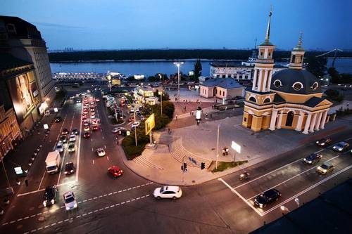 kiev podol №3 Andriyivskyy Descent and Podil
