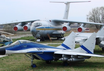 avia kiev Aviation museum tour